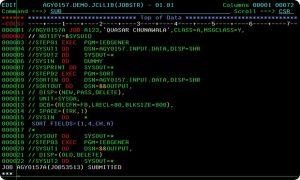 Mainframe Programming