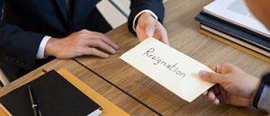 Resignation 2021